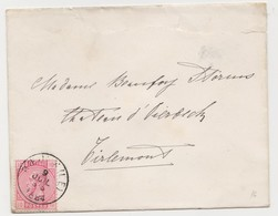 Tienen, Thienen, Tirlemont, Kasteel Oorbeek,enveloppe Voor John Beaufoy Storms, 1884 - Unclassified