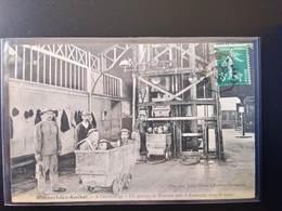 CPA (62) Rimbert Lez Auchel. A L'accrochage Groupe De Mineurs Prêt Pour La Mine. Imp.Leleu Baron    (G Bis 413) - France