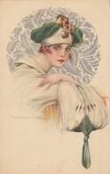 Art Deco ; CORBELLA , Head Portrait , 1910-20s - Corbella, T.