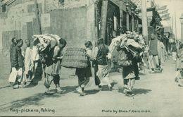 China, PEKING PEIPING, Native Rag Pickers (1910s) Postcard - China