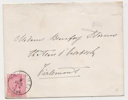 Tienen, Thienen, Tirlemont, Kasteel Oorbeek, Van Sint-Truiden Enveloppe Voor Mevrouw John Beaufoy Storms, 1887 - Unclassified