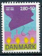 D - [71756]SUP//**/Mnh-N° 838, 2k80+50 - Libération, Allégorie De La Lumière, Dessins De Margrethe II - Danemark
