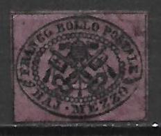 EGLISE  /   Etats Pontificaux   -  1852 .   Y&T N° 1 (*)  -   à 10% - Etats Pontificaux
