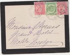 Tienen, Thienen, Tirlemont, Kasteel Oorbeek, Van Tienen Naar Noorwegen, Enveloppe Voor John Beaufoy Storms, 1904 - Unclassified