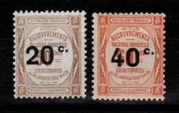 Taxe YV 49 & 50 N** Cote 115 Euros - Postage Due