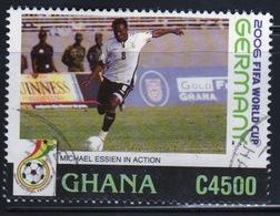Ghana 2006 Single 4500c Stamp From The World Football Championships. - Ghana (1957-...)