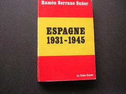 Espagne 1931-1945 - Politik