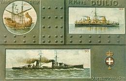 """Castellammare Di Stabia, Regia Marina Italiana, Varo Della Nave """"Duilio"""", Riproduzione A02, Reproduction - Guerra"""