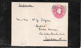 TRANSVAAL - 1907 Postal Stat. To London (Ref 1017) - África Del Sur (...-1961)