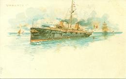 """Regia Marina Italiana, Nave """"Umberto I"""" In Navigazione, Riproduzione A03, Reproduction - Guerra"""