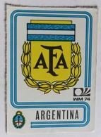 Vignette Autocollante Figurine Panini München 74 Coupe Du Monde De Football 1974 Argentina N°317 World Cup - Panini