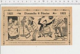 2 Scans Humour Musique Jazz-band Taxe Sur Les Pianos Tambourin  226X - Unclassified