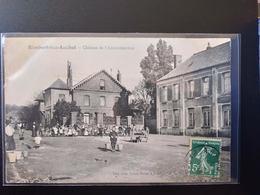 CPA (62) Rimbert Lez Auchel. Château De L'Administration. Animation   Imp.Leleu Baron    (G Bis 421) - France