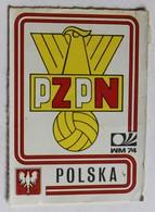 Vignette Autocollante Figurine Panini München 74 Coupe Du Monde De Football 1974 Polska N°334 Pologne World Cup - Panini
