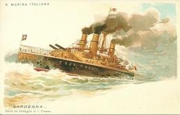 """Regia Marina Italiana, Nave """"Sardegna"""", Nave Da Battaglia Di I Classe, Riproduzione A04, Reproduction - Guerra"""