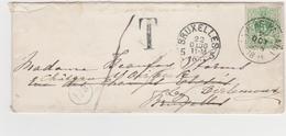 Tienen, Thienen, Tirlemont, Kasteel Oorbeek, Van Brussel Enveloppe Voor Mevrouw  John Beaufoy Storms, 1886! - Unclassified