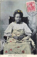 Gold Coast - Ghana - Accra - Wohlhabene Negerfrau - Femme Nègre Riche - Voir Oblitération - Ghana - Gold Coast
