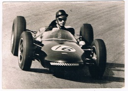 F-1 / 5 ZANDVOORT 1962 : European Grand Prix - Wolfgang Seidel With Emeryson-Climax - Moto Sport