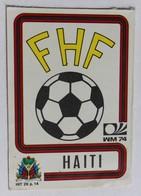 Vignette Autocollante Figurine Panini München 74 Coupe Du Monde Football 1974 Haïti N°308 World Cup - Panini