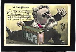 CPA Orgue De Barbarie Organ Grinder Fallières Président De La République Par MILLE Non Circulé - Music And Musicians
