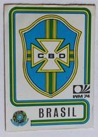 Vignette Autocollante Figurine Panini München 74 Coupe Du Monde Football 1974 Brasil Brésil N°147 World Cup - Panini