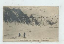 Vallouise (05) : MP D'alpinistes Au Glacier Blanc En 1924 (animé) PF. - Autres Communes