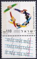 ISRAEL 1990 Mi-Nr. 1170 ** MNH - Ungebraucht (mit Tabs)