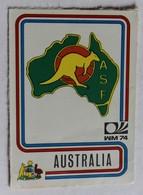 Vignette Autocollante Figurine Panini München 74 Coupe Du Monde Football 1974 Australia Australie N°104 World Cup - Panini