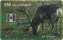 Svalbard - Telenor (Norway) - Svalbard Reindeer - N-141A (Cn. C92030083) - 02.1999, 12.000ex, Used - Svalbard