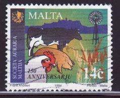 Malta 1994 Single 14c Stamp To Celebrate Anniversaries And Crops. - Malta