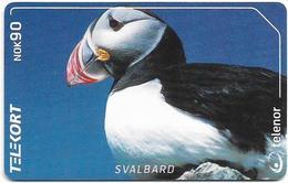 Svalbard - Telenor (Norway) - Fratercula Arctica Puffin - N-235 - 02.2002, 11.000ex, Used - Svalbard