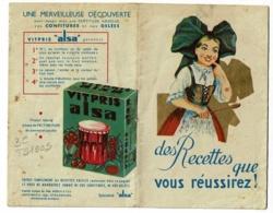 """Livret Publicitaire """"Alsa"""" 24 Pages - Etablissement Moench & Fils - Levure Alsacienne, Recettes, Vitpris, 7.5 X 12 Cm - Books, Magazines, Comics"""