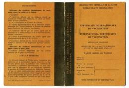 Certificats Internationnaux Vaccination, Contrôle Sanitaire Frontières, Variole, Fièvre Jaune (Air Frrance), Choléra - Unclassified