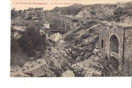 LE FRONT DE CHAMPAGNE LE FORT DE NOGENT L ABBESSE - Guerra 1914-18