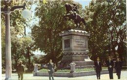PLAZA SAN MARTIN, LA RIOJA. ARGENTINA POSTAL CPA NOT CIRCULATED -LILHU - Argentina