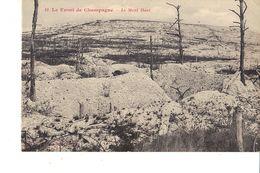 LE FRONT DE CHAMPAGNE LE MONT HAUT - Guerra 1914-18
