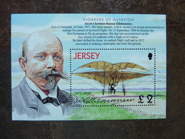 JERSEY  Pioneer Of Aviation Jacob Christian Hansen Ellehammer   ** MNH - Jersey