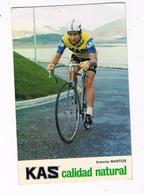 SPORT-71   ANTONIO MARTOS ( KAS) - Cycling