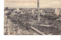 LE FRONT DE CHAMPAGNE RUINES DU VILLAGE DE NAUROY - Guerra 1914-18