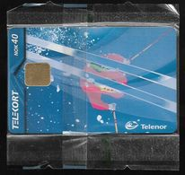 Norway - Telenor - Downhill - N-196 - 12.2000, 10.000ex, NSB - Norvège