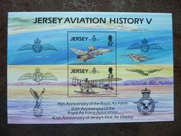 JERSEY  Aviation  History V   ** MNH - Jersey