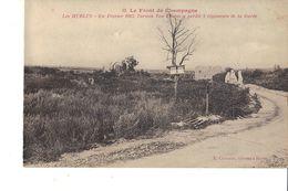 LE FRONT DE CHAMPAGNE LES HURLUS  En Février 1915 L Armée Von Einem Perdit 2 Régiments De La Garde - Guerra 1914-18