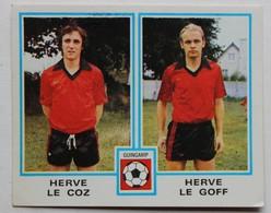 Vignette Autocollante Figurine Panini Football 80 équipe De Guingamp Hervé Le Coz Hervé Le Goff N°391 - Panini