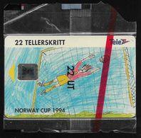 Norway - Telenor - Norway Cup 1994 - N-033A - (Cn. C46100855) - 06.1994, 9.000ex, NSB - Noorwegen