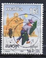 Malta 1997 Single 16c Stamp To Celebrate Europa Tales And Legends. - Malta