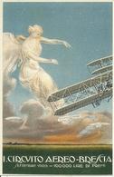 1° Circuito Aereo, Brescia, Settembre 1909, Riproduzione A11, Reproduction - ....-1914: Precursori