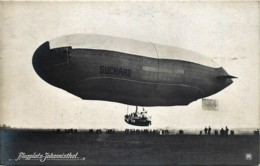 Deutschland - Flugplatz Johannisthal - Fotokarte - Zeppelin Suchard - Germany