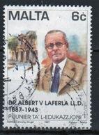 Malta 1997 Single 6c Stamp To Celebrate Pioneers Of Education. - Malta