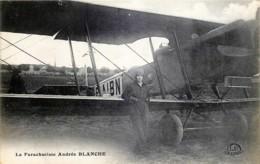 La Parachutiste Andrée BLANCHE - Airmen, Fliers