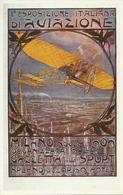 """1^ Esposizione Italiana Di Aviazione, Milano, Novembre 1909, """"Gazzetta Dello Sport"""" Riproduzione A12, Reproduction - ....-1914: Precursori"""